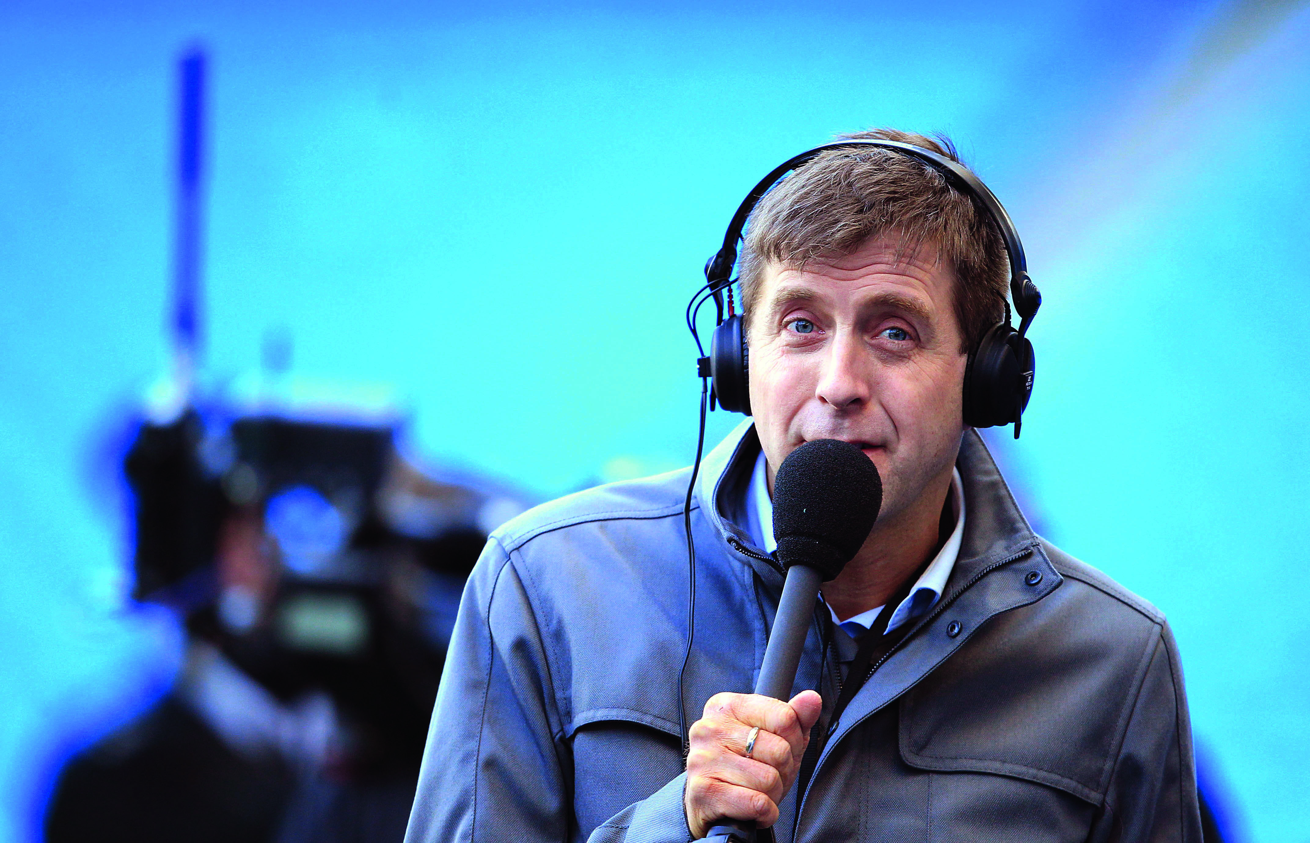 BBC 5Live presenter Mark Chapman