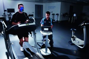 Perform at St George's Park VO2max assessment