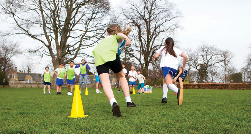primary sports coaching