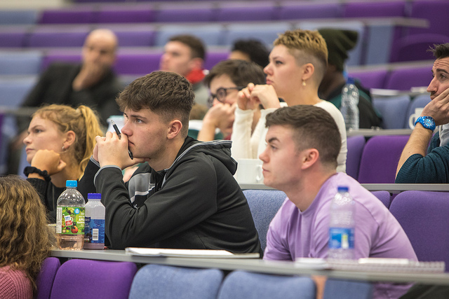 Students at Swansea