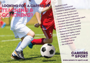careers in sports coaching