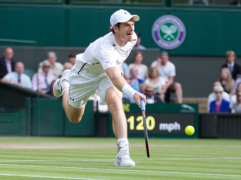 Image - Jamie McPhillimey Sports Photographer - Andy Murray